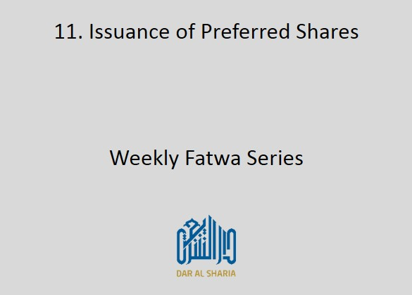 Issuance of Preferred Shares