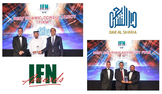 Dar Al Sharia recognized with ten distinctive accolades at the 2019 Islamic Finance News Awards