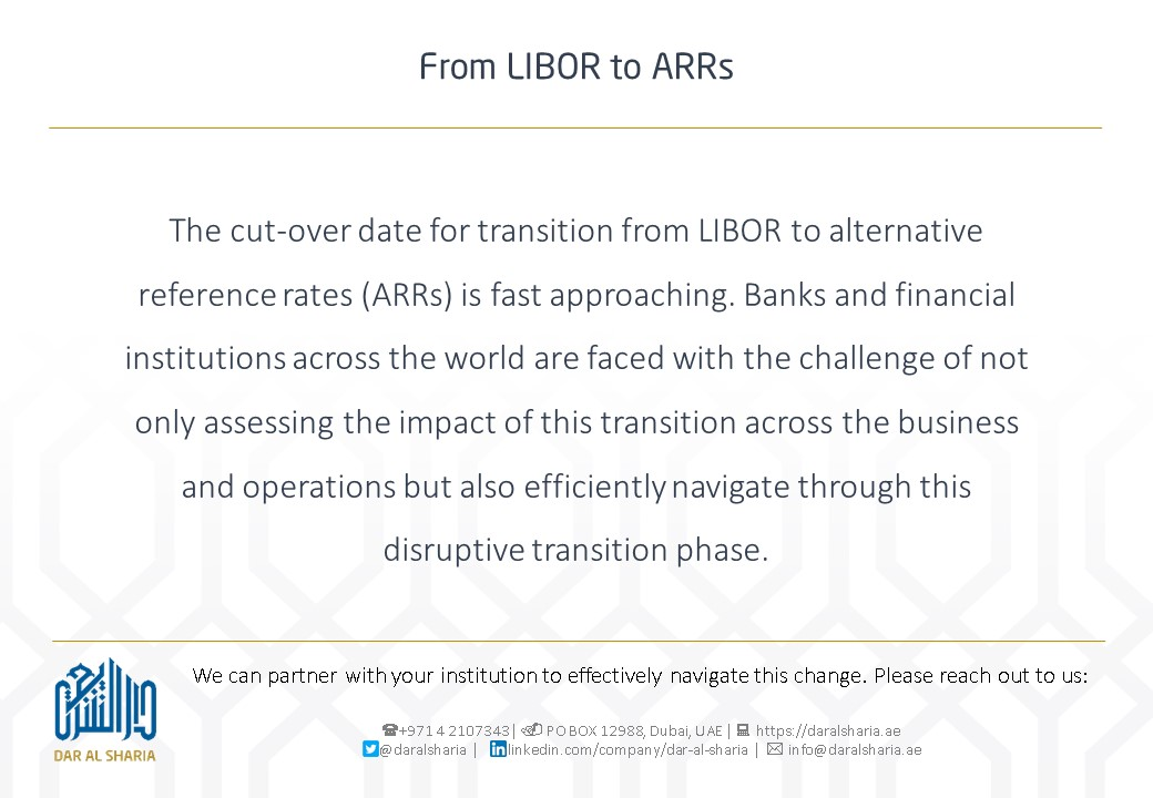 From LIBOR to ARRs