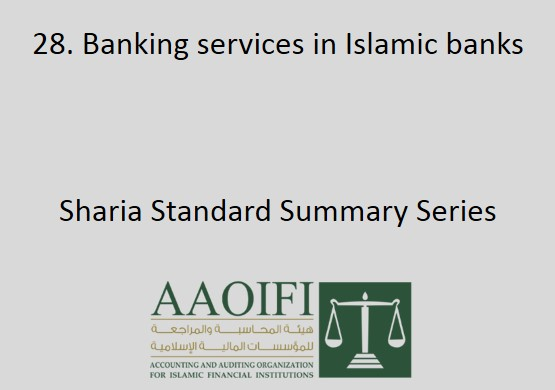 Banking services in Islamic banks