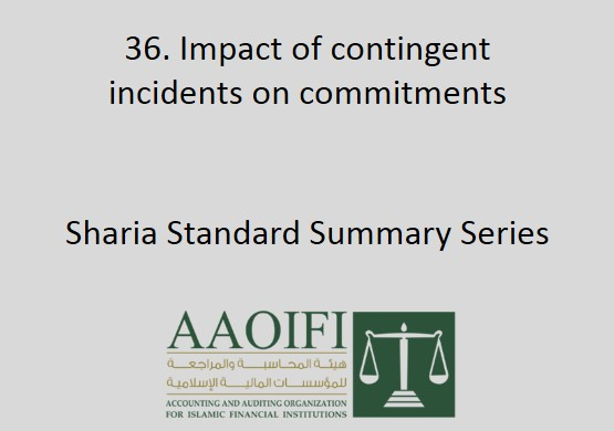 Impact of contingent incidents on commitments