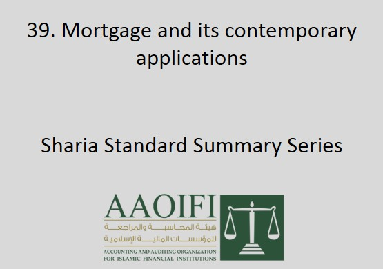 Mortgage and its contemporary applications