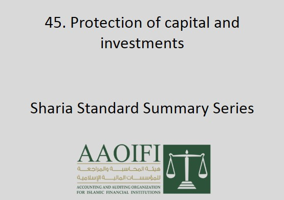 Protection of capital and investments