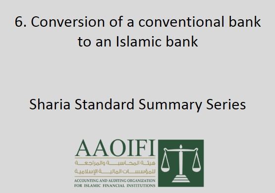Conversion of a conventional bank to an Islamic bank